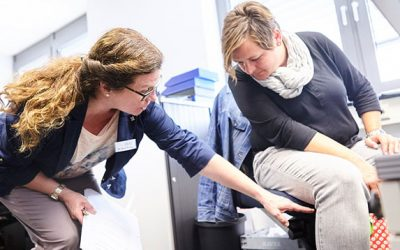 Ergonomie am Arbeitsplatz – Rückenfitness im Büro und der Produktion
